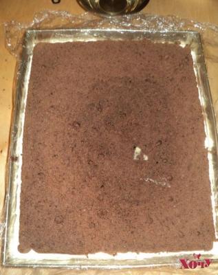 Шаг 8 торт птичье молоко
