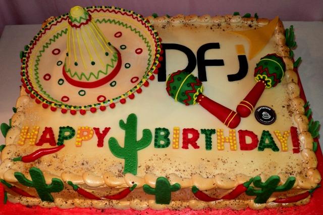 Торт для мексиканской вечеринки фото