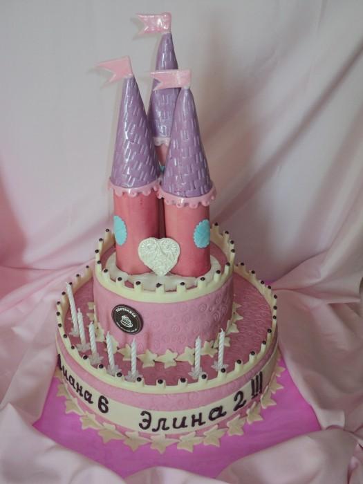 Замок 4кг торталиса торты на заказ