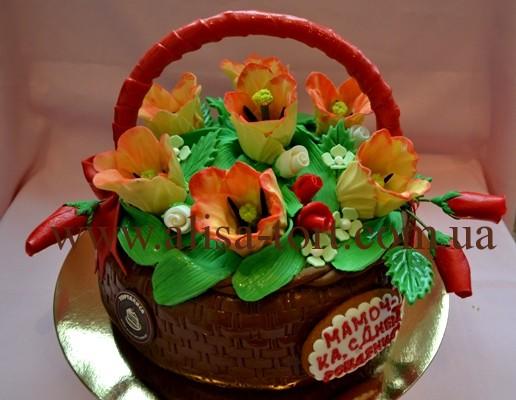 Тюльпанами торталиса торты на заказ
