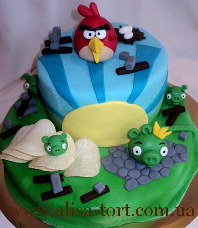 Angry birds торталиса торты на заказ
