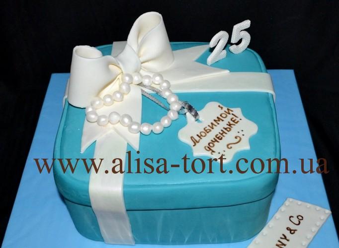 торт в стиле тиффани фото