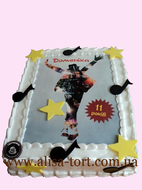 Картинки торт с майклом джексоном